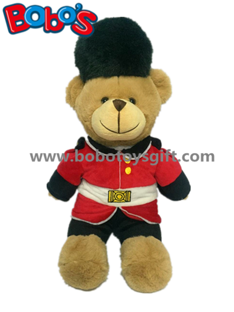 Custom Plush Guardsman Teddy Bear Toy