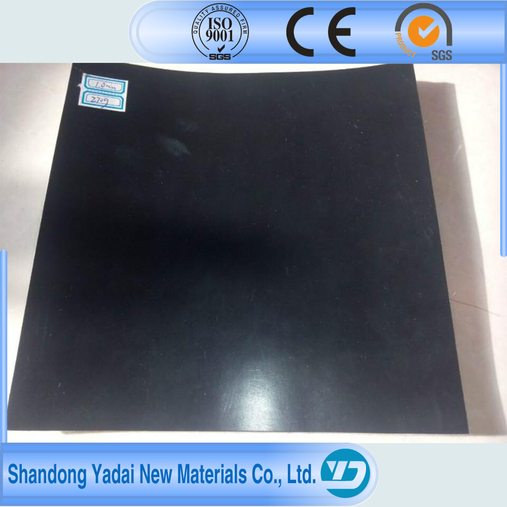 Fish Farm Pond Liner HDPE Geomembrane Membrane Waterproofing