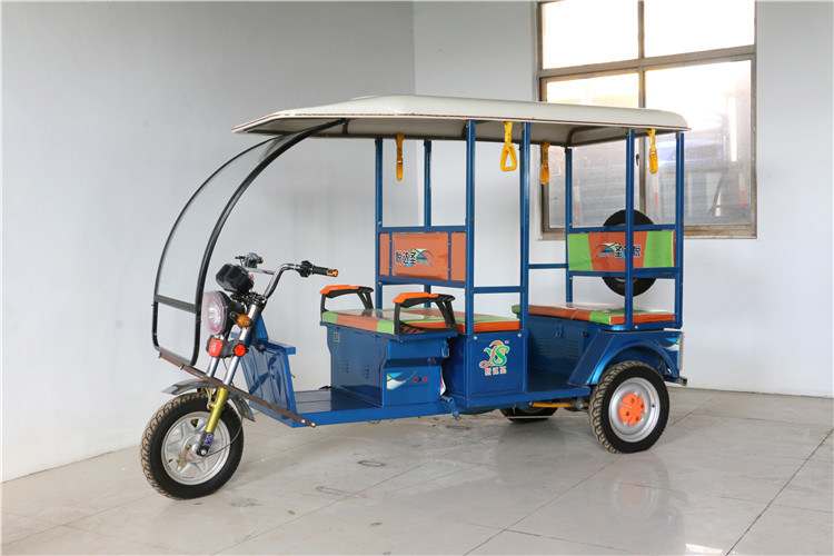 3 Wheels 6 Passengers Electric Tricycle Manufacture in China