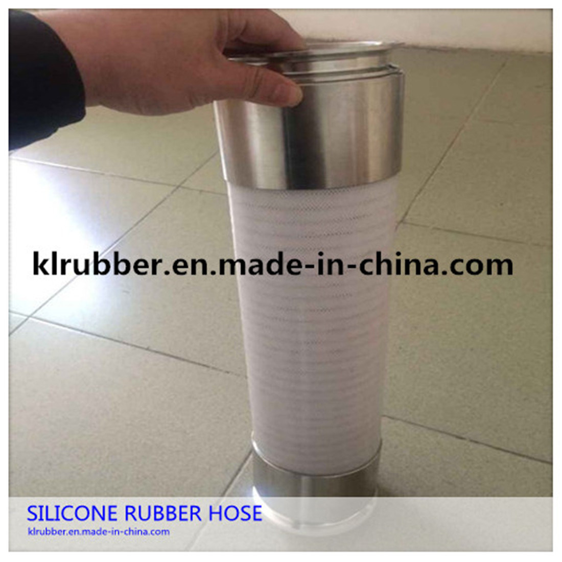 Large Diameter No Smell Medical Grade Silicone Rubber Vacuum Hose