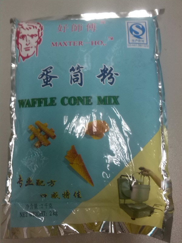 Waffle Cone Mix