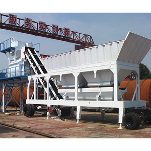 Mobile Concrete Batching Plant (YHZS-75)