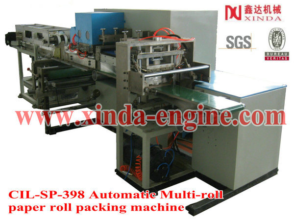Full-Automatic Toilet Paper Roll Machine Production Line (CIL-SP-A-A)