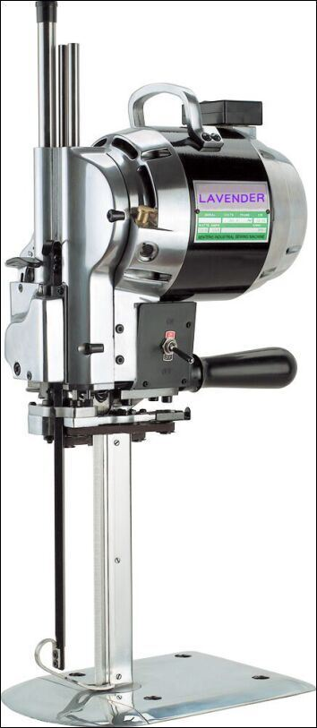 Straight Knife Fabric Cutter for Sewing Industry