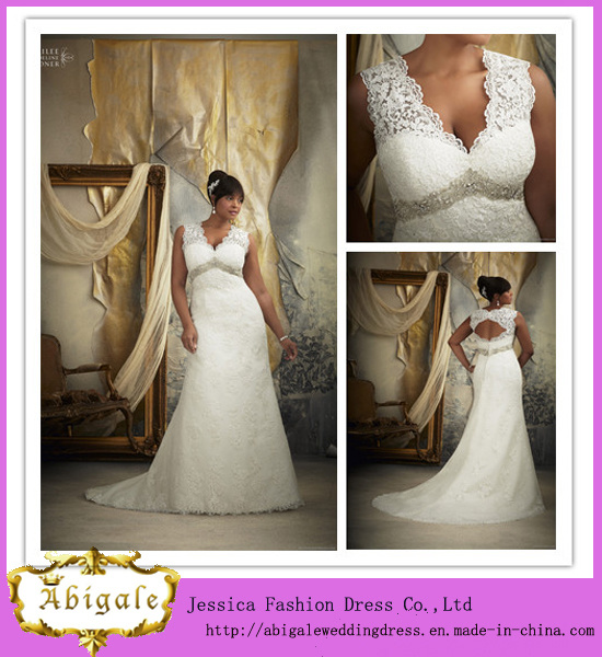 2014 Charming Ball Gown V Neck 3/4 Sleeve Ankle Length Appliqued Lace Tulle Cocktail Dress (HS089)