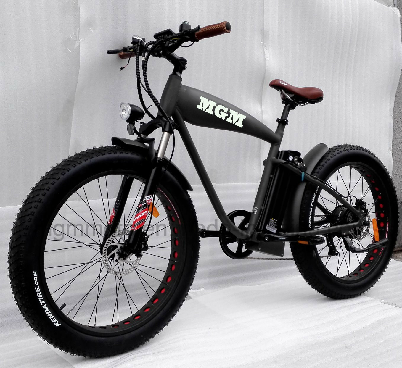 Mgm Made Fat Tire 26 4.0 Inch Mountain Electric Bicycle