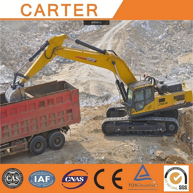 Hot Sales CT460-8A (146m3) Multifunction Hydraulic Heavy Duty Crawler Backhoe Excavator