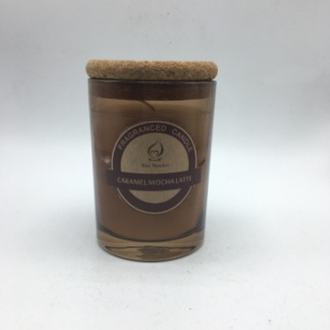 Eco Friendly Honey Wax Scented Candle in Glass Cup