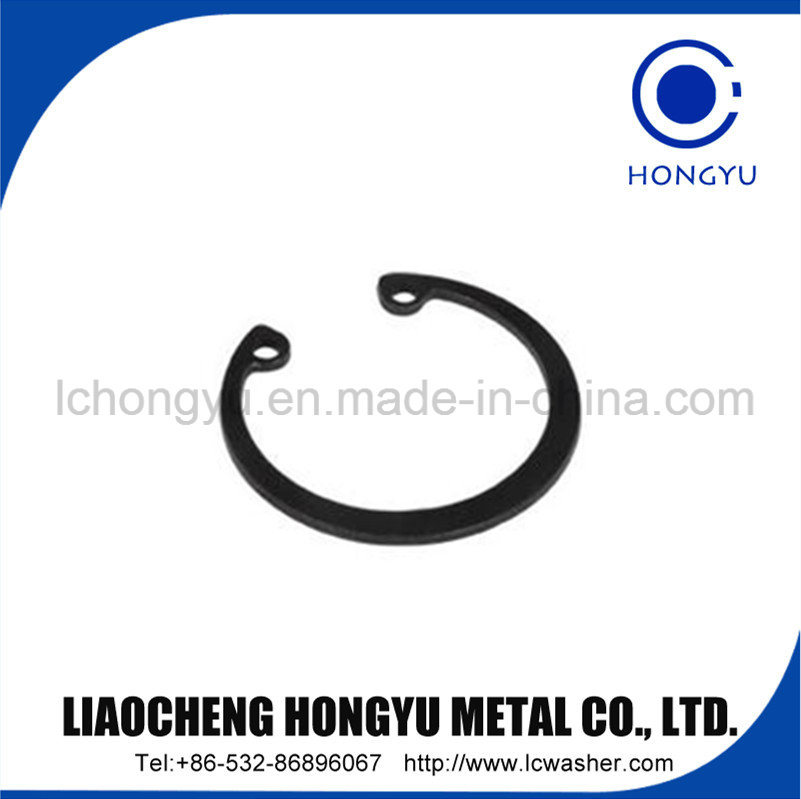 "1/4"" Black Spring Lock Washer"