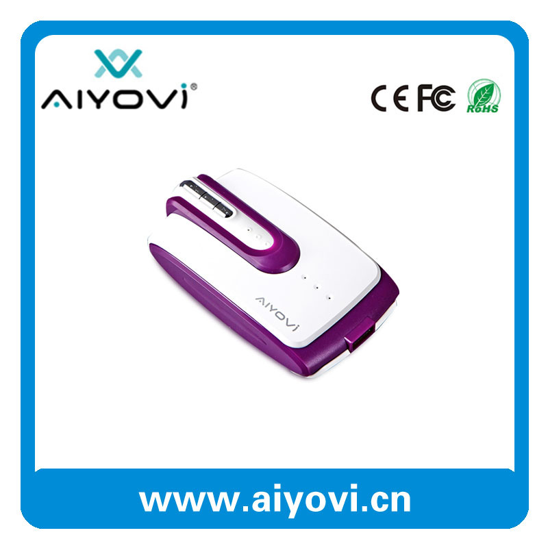 5200mAh High Quality Special Designed Portable Power Bank Built-in Headset