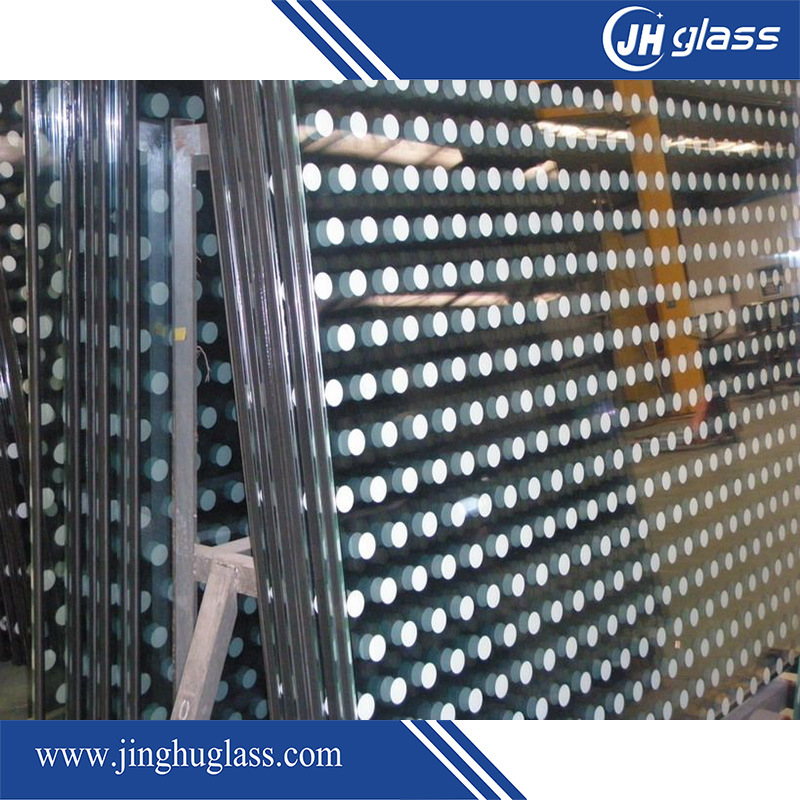 Tempered Silk Screen Decorative Glass for Home Decoration