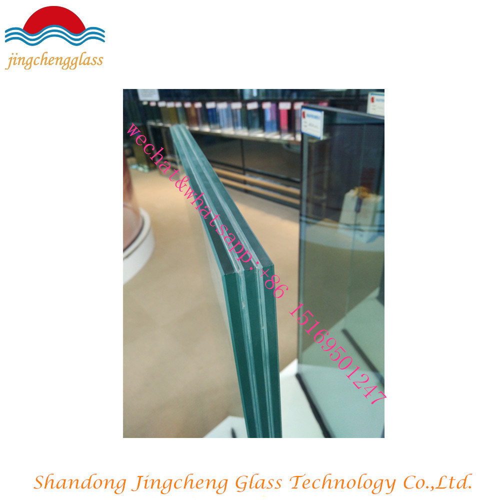 Clear Safety Building Tempered Laminated Glass