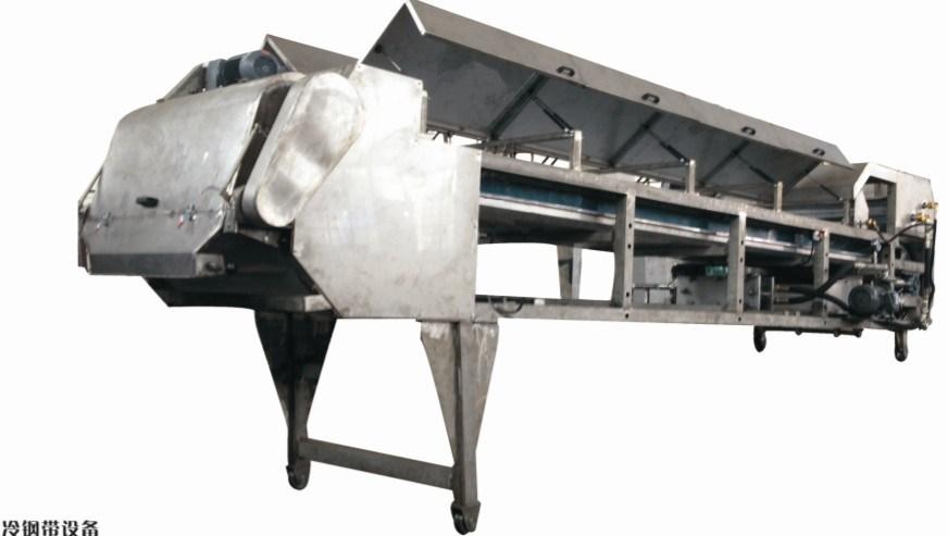 Water Cooling Steel Belt with V Belt