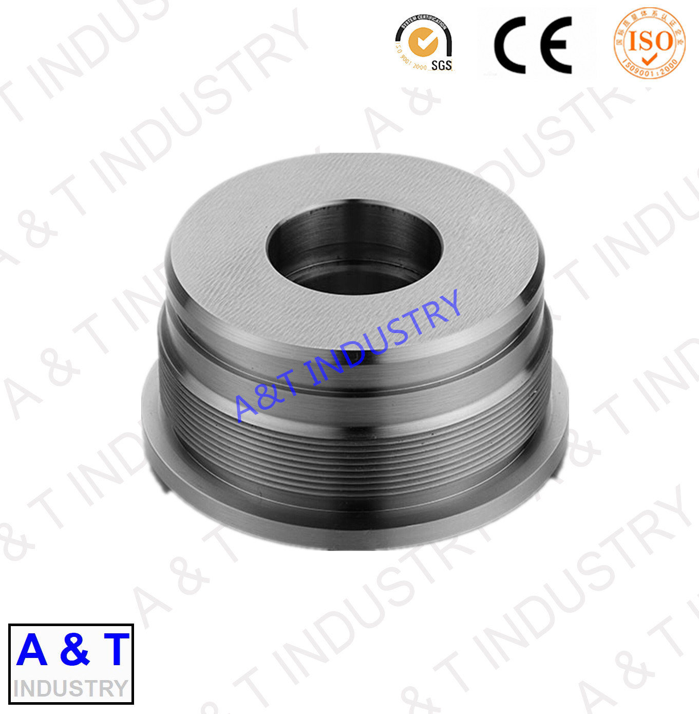 China Steel Manufacturer Custom CNC Machined Parts