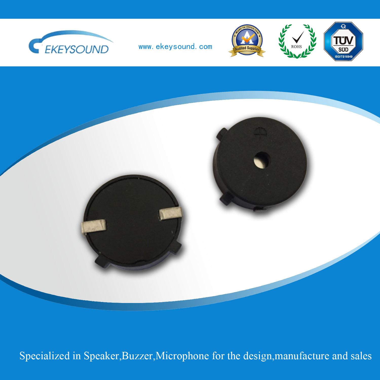 Round Piezo Buzzer with SMT Type
