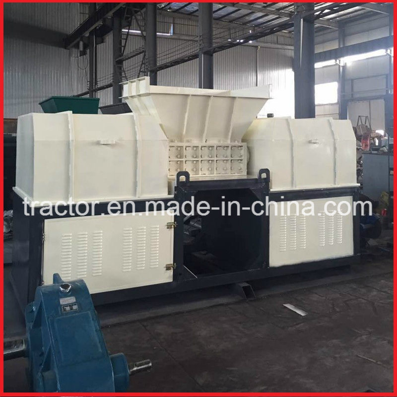 Double Axle Waste Aluminium Extrusion/Cans/Bars/Plates/Profile/Sheets Crusher