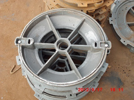Round Cast Iron Manhole for Cement
