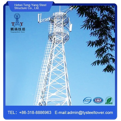 Self Supporting Angle Steel Telecommunication Tower