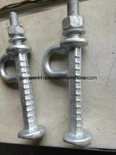 Electric Line Pole Cast Iron Pole Step Bolt