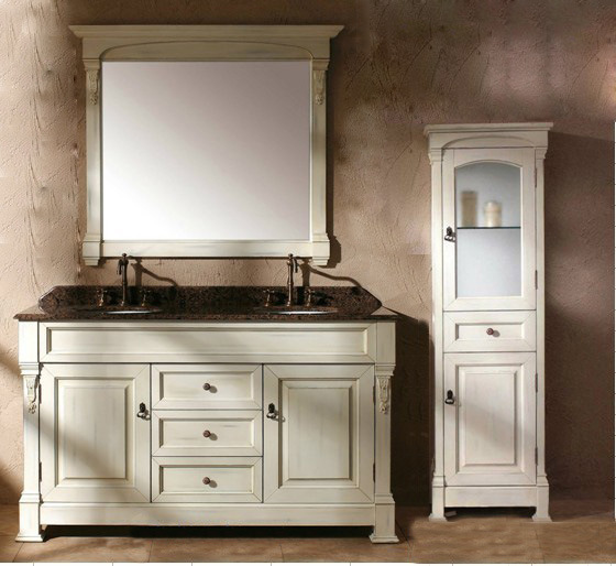 China 2012 european style bathroom mirror vanity cabinet for European style bathroom