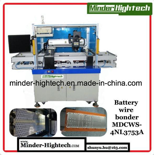 Big Size 18650 26800 Tesla EV Battery Pack Wire Bonder Mdcws-4nl3753A