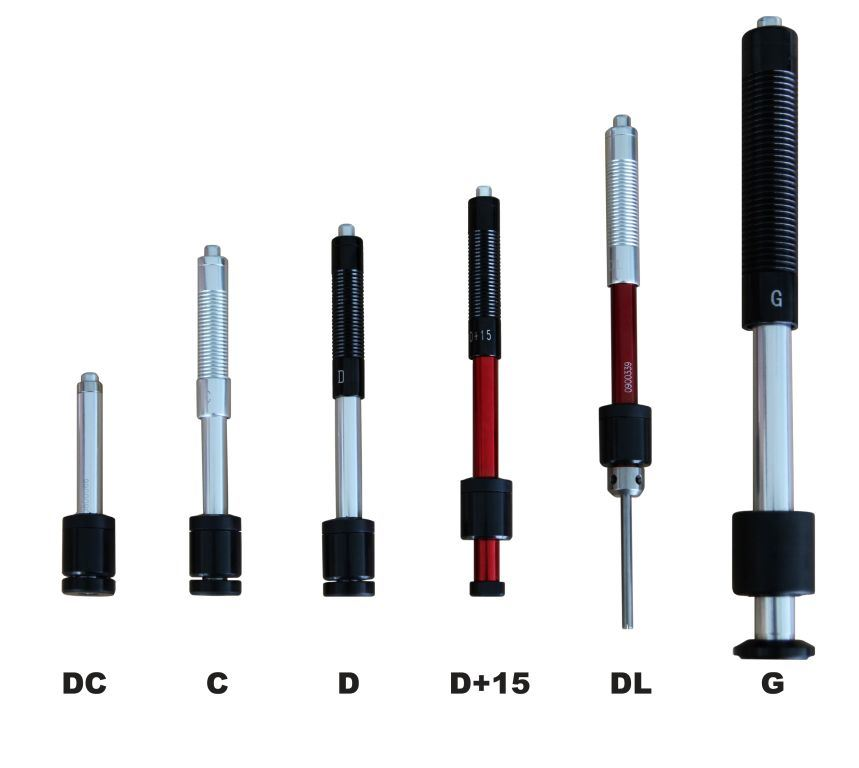Hardness Tester Probes with Different Types