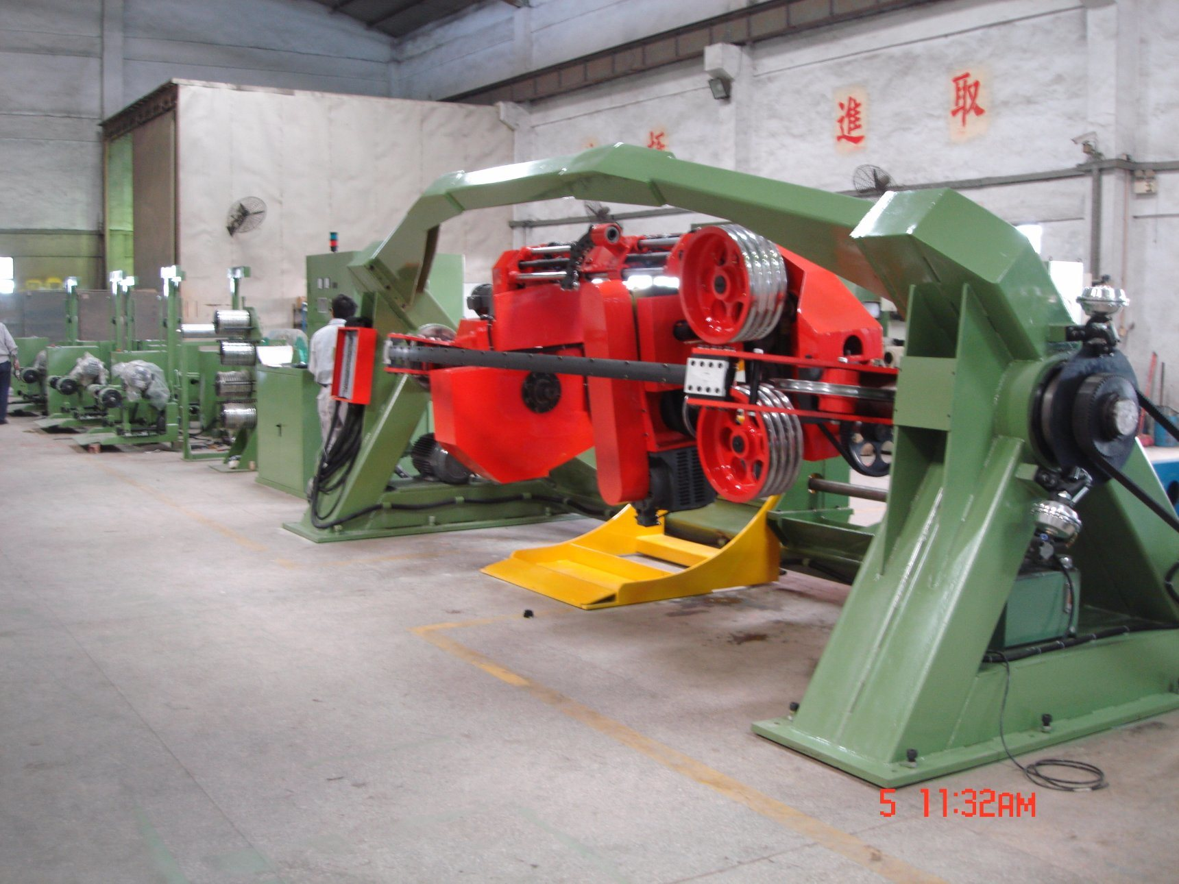 1250mm Double Twisting Machine for Stranding Wire and Cable