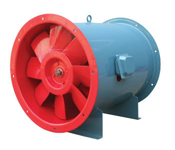 Htf Series Hi-Temperature Smoke Drafting Axial-Flow Fans