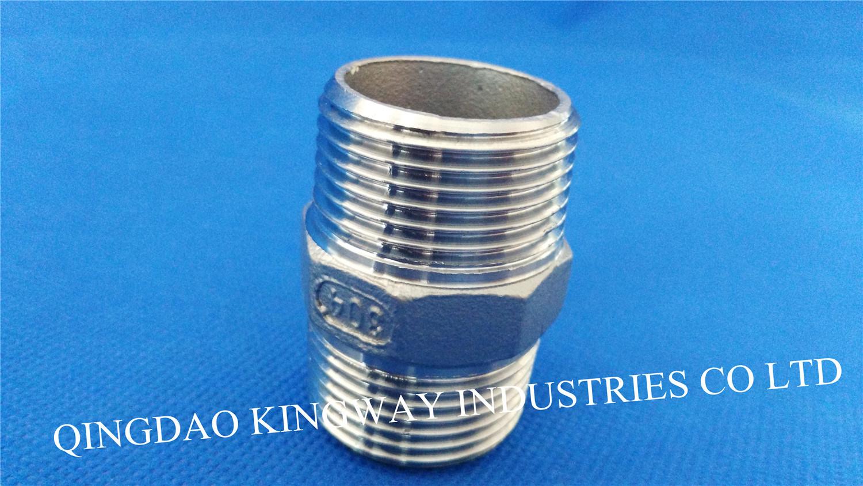 Stainless Steel Hex. Nipple (HN)