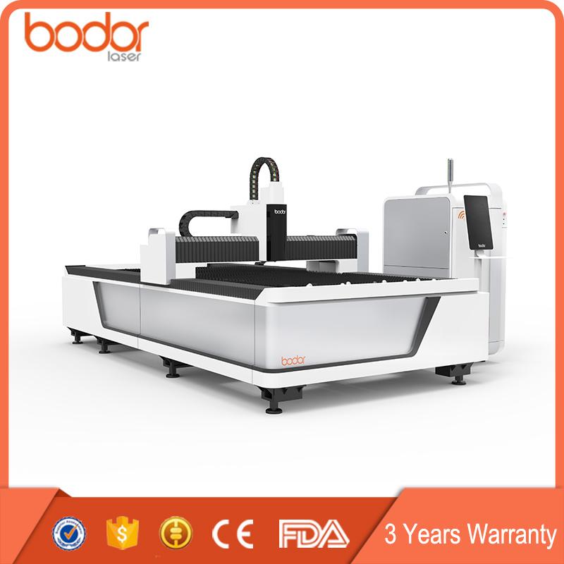 High Speed CNC 500W 700W 1000W Fiber Laser Cutting Machine for Metal Sheet