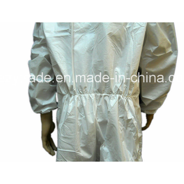Disposable Protecttive Coverall Microporous Coverall 40g with Ce