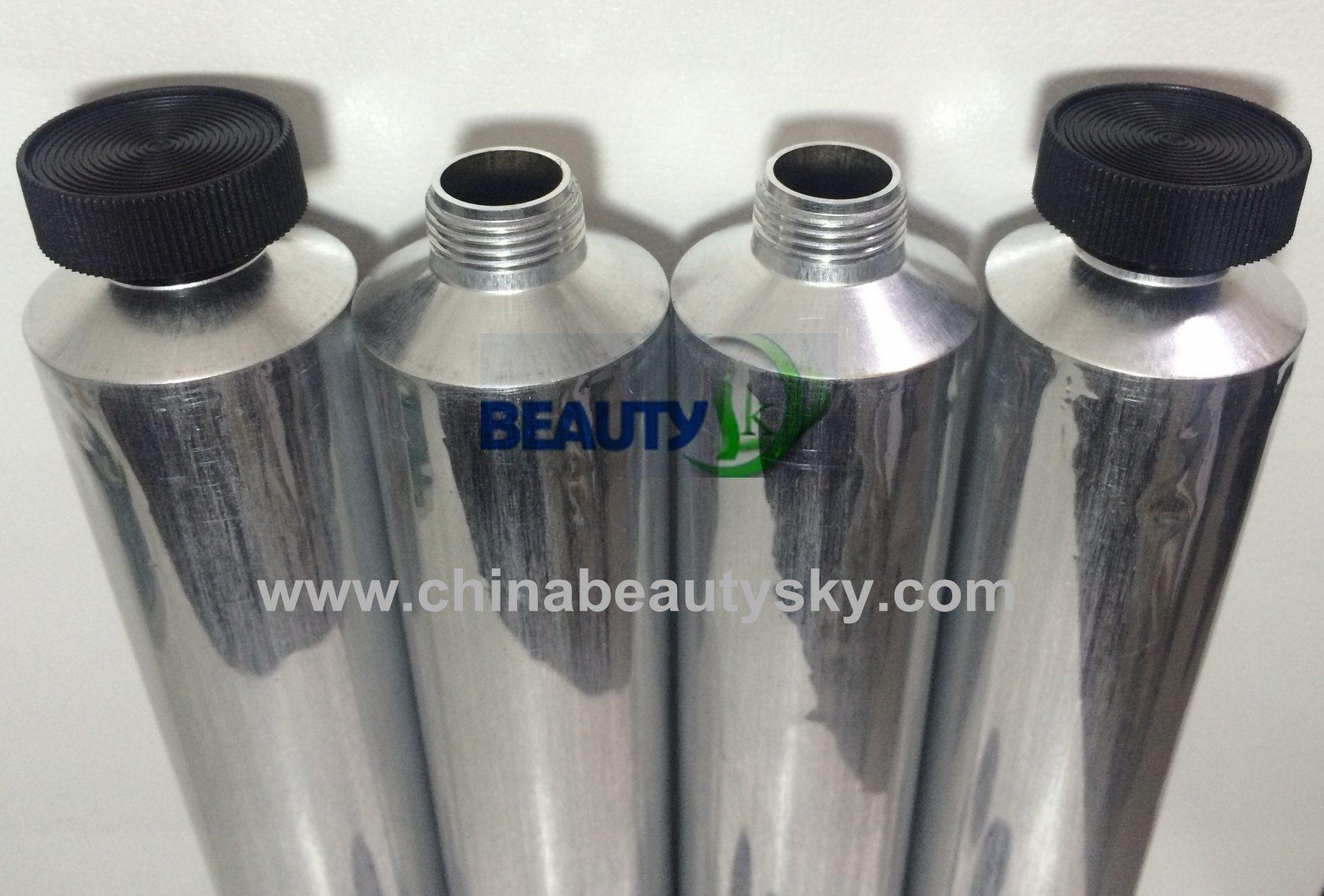 Printed RTV Silicone Sealants Adhesive Glue Packaging Aluminum Packaging Tubes