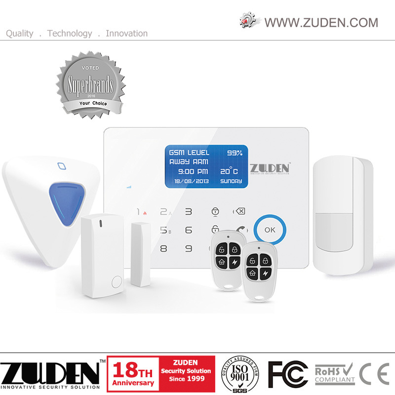 Wireless Home Security GSM Alarm System with APP Control