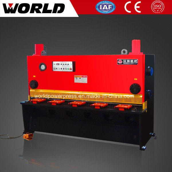 Guillotine Type Hydraulic Metal Cutting Shearing Machine