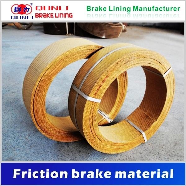 Woven Brake Lining Material : China non asbestos woven brake lining roll