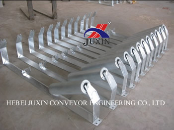 Conveyor Galvanized Roller and Frame