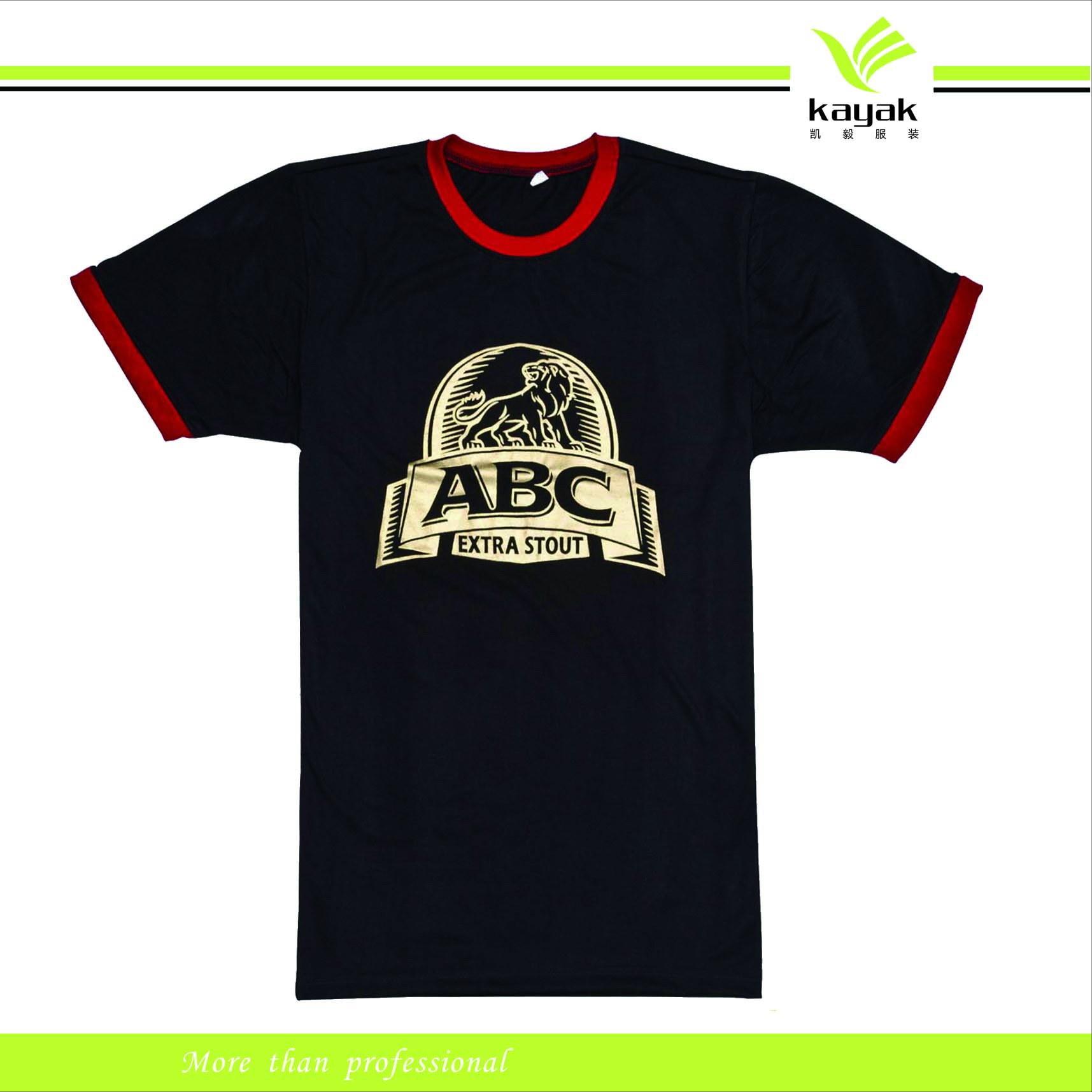 China Custom Fashion Screen Printing T Shirt T 110