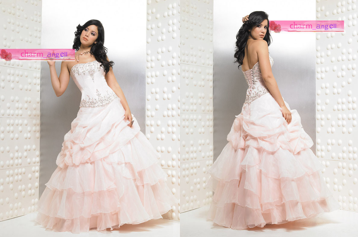 China Light Pink Party Prom Dress RS 276 China Party