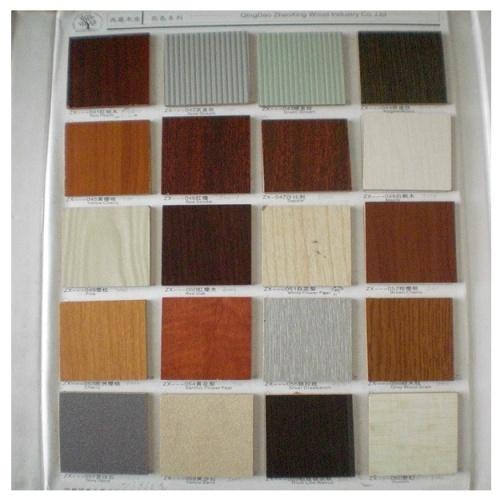 panneau de particules de m 233 lamine avec la couleur de fibre de bois panneau de particules de