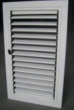 Aluminium Shutter Window (ZXJH007)