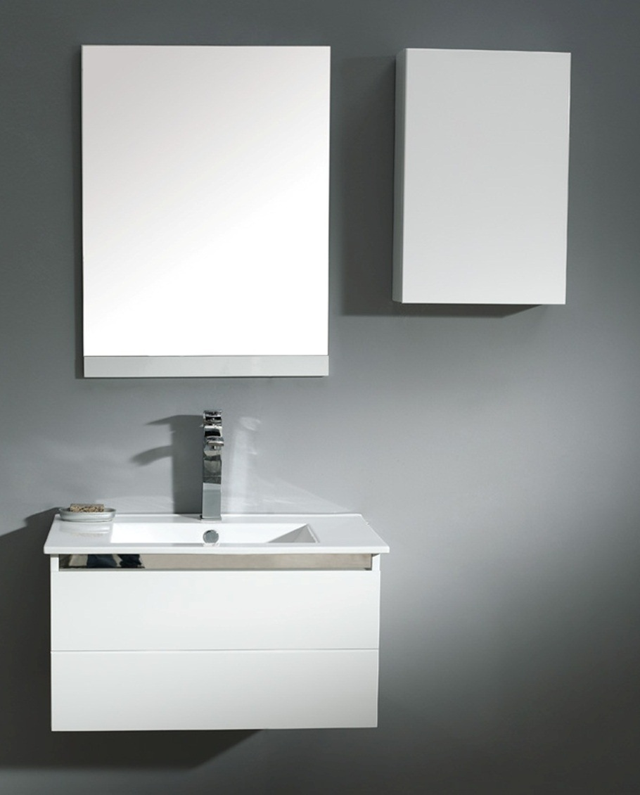china mdf white color bathroom vanity bathroom cabinet 021 750