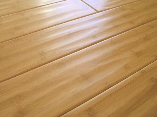 Antique Handscraped Carbonized Horizontal Bamboo Flooring