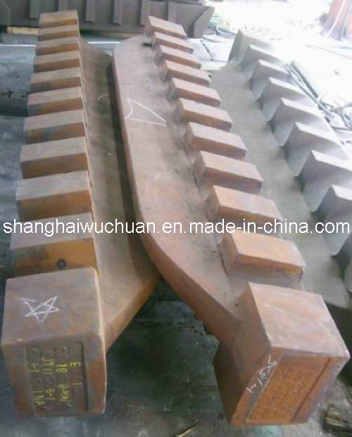 Manganese Shredder Hammer, Metal Crusher Parts