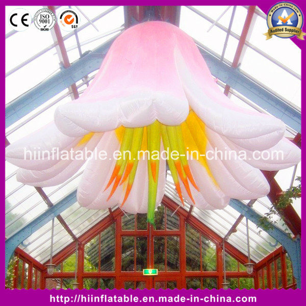 Hot Hanging Air Bubble Inflatable Flower for Event Club Decoration