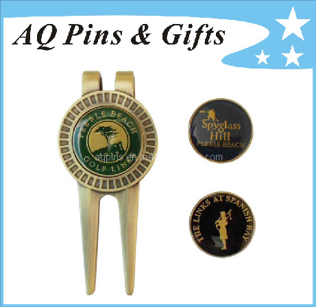 High Quality Divot Tool with Custom Ball Marker (golf-02)