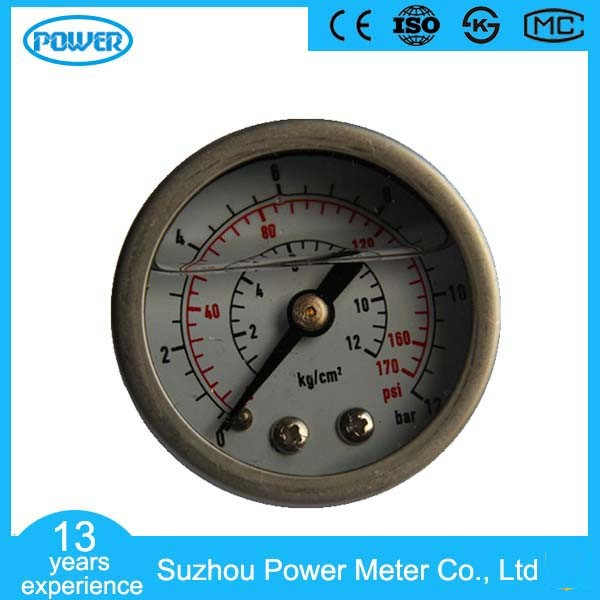100mm Full Stainless Steel Wika Type Dry Pressure Gauge Manometer