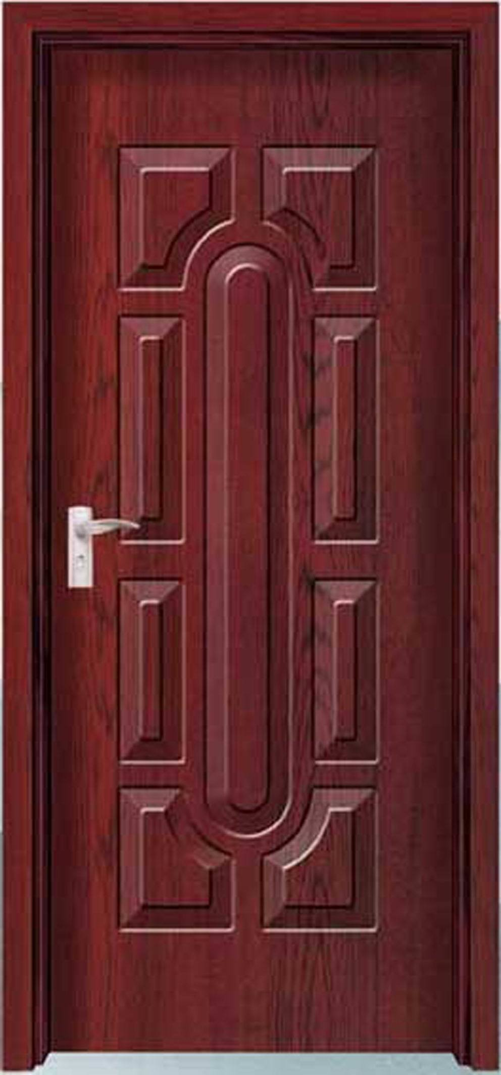 China Interior Melamine Door Hd 8014 China Melamine