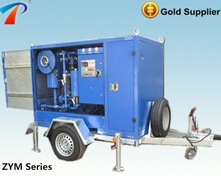 Waste Transformer Oil Purifier/Aging Transformer Oil Cleaning Plant/Transformer Oil Dehydration Plant (ZYM)