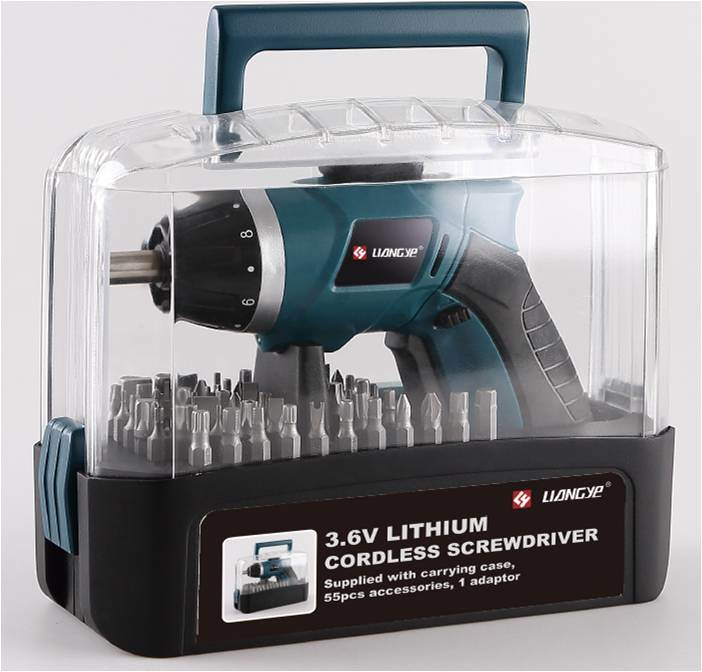 Cordless Screwdriver with Li-ion Battery (LY529)