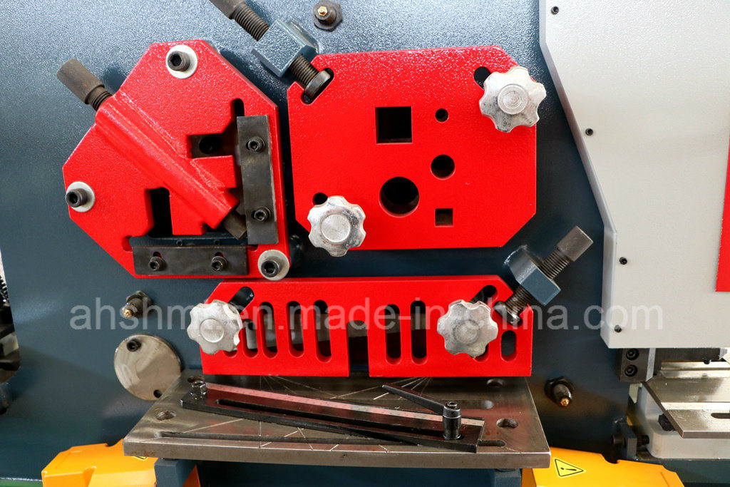 Q35y-30 Hydraulic Iron Worker/Hydraulic Conbined Punching and Shearing Machine with Notching /Angle Cutting Machine